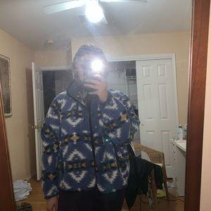 AEO patterned fleece